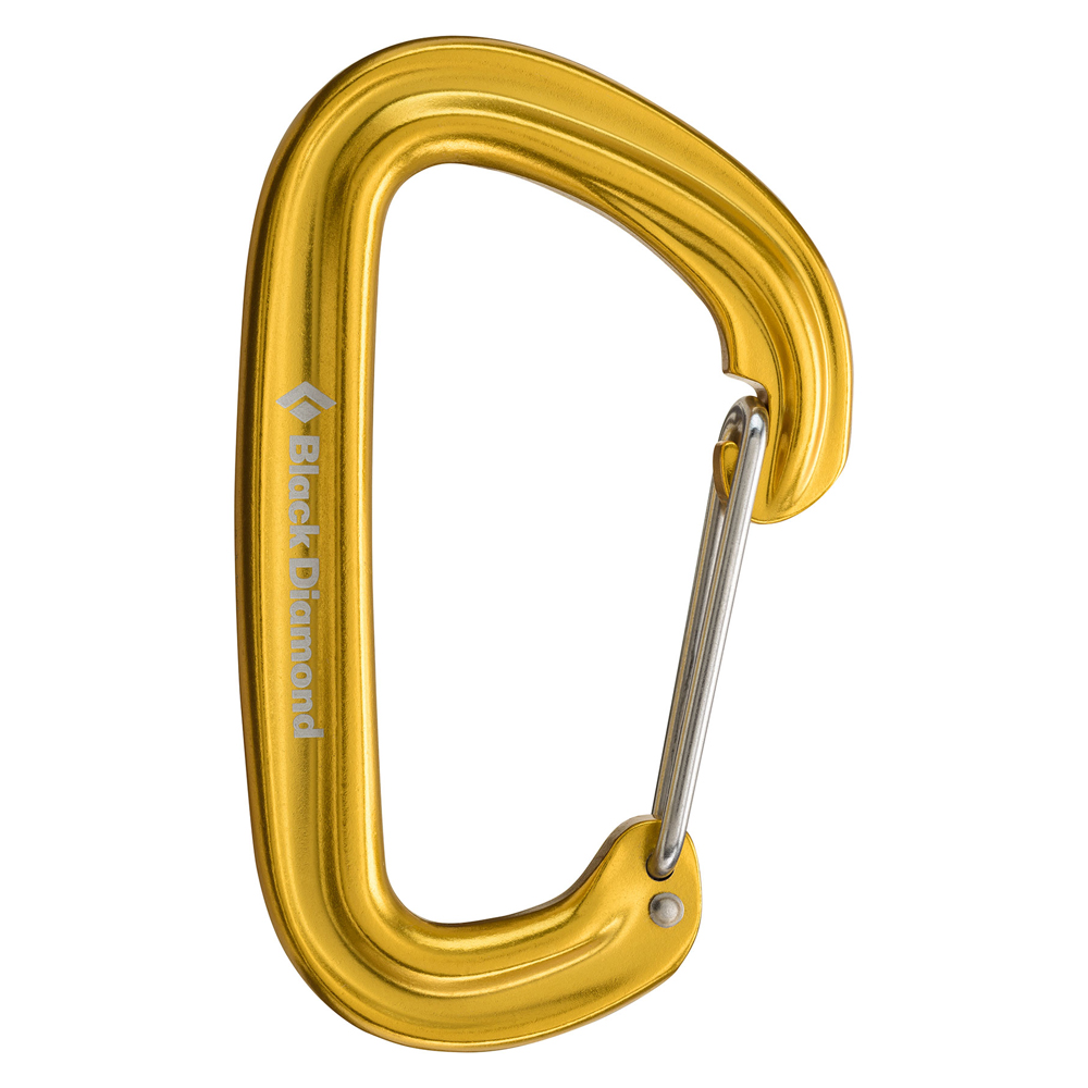 Neutrino Carabiner Yellow Black Diamond