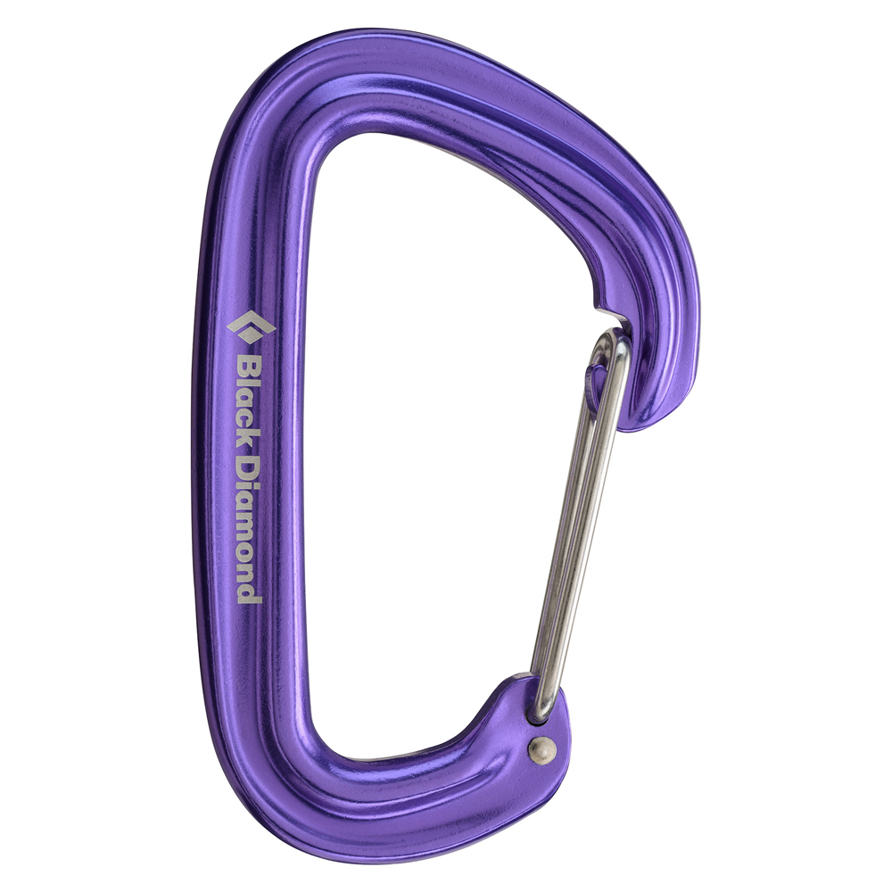 Neutrino Carabiner Purple Black Diamond