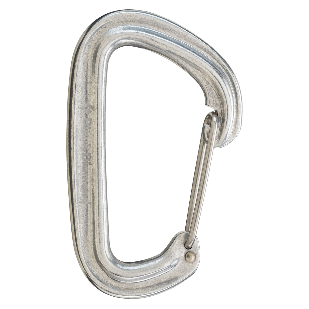 Neutrino Carabiner Polished Black Diamond