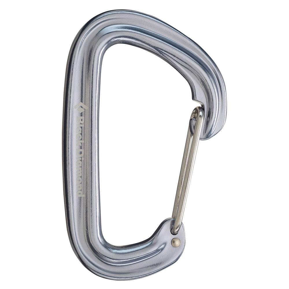 Neutrino Carabiner Gray Black Diamond