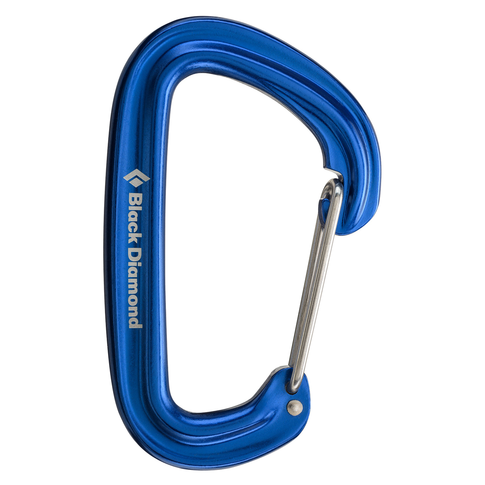 Black Diamond Neutrino Carabiner Blue