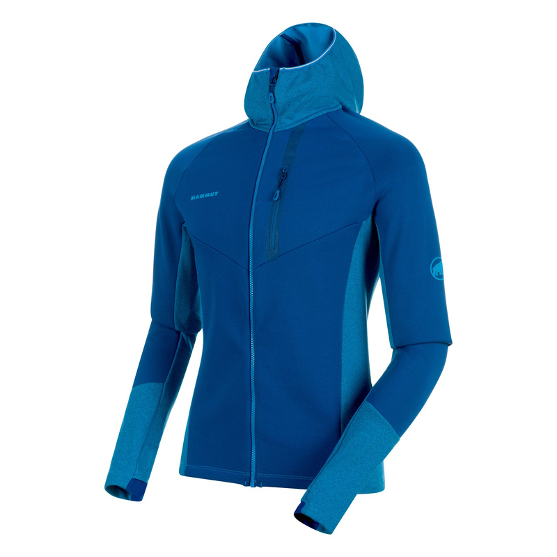 Aconcagua Pro Hooded Jacket Men Ultramarine / Imperial Melange Mammut