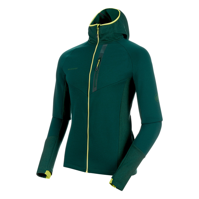 Aconcagua Pro Hooded Jacket Men Dark Teal / Melange Mammut