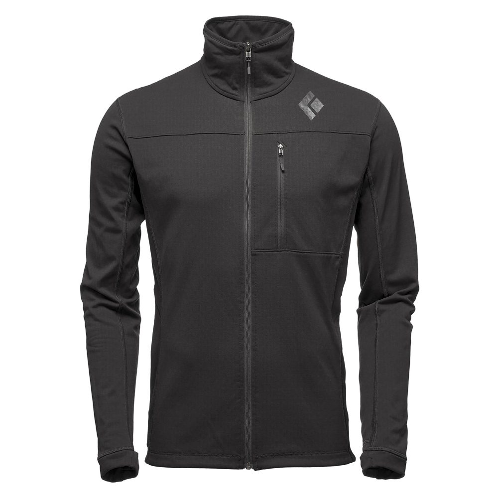 Coefficient Fleece Jacket Black Black Diamond
