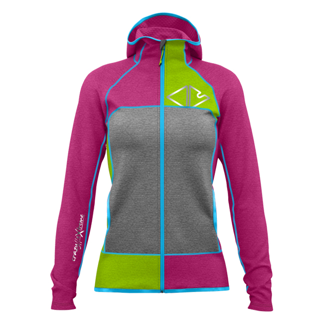 Ionic Jacket Woman Berry Crazy Idea