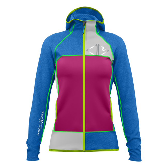 Ionic Jacket Woman Bluette Crazy Idea