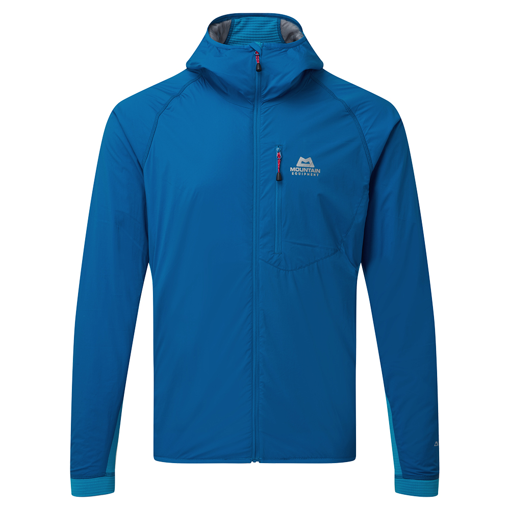 Mountain Equipment Switch Pro Hooded Jacket Lapis Blue / Finch Blue