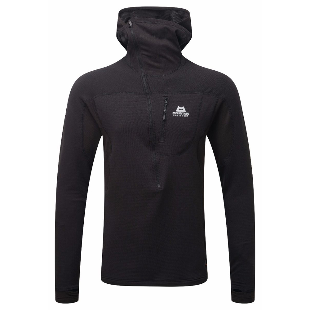 Eclipse Hooded Zip-T Black Mountain Equipment