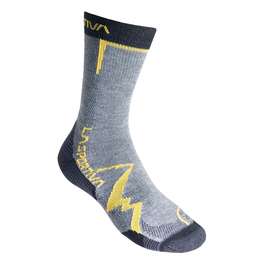 Mountain Socks Grey / Yellow La Sportiva
