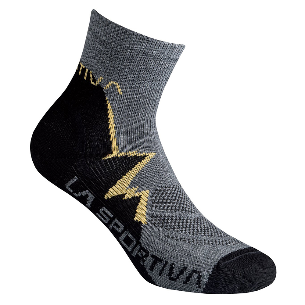 Trekker Socks Black / Yellow La Sportiva