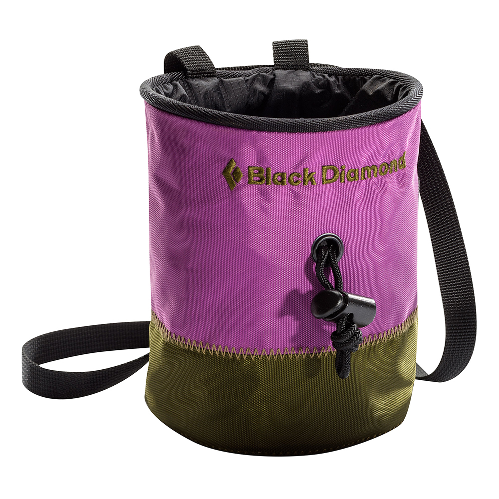 Black Diamond Small Mojo Repo Chalk Bag Purple