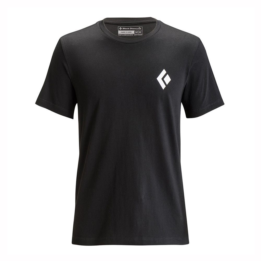 Black Diamond Equipment for Alpinists Tee Black