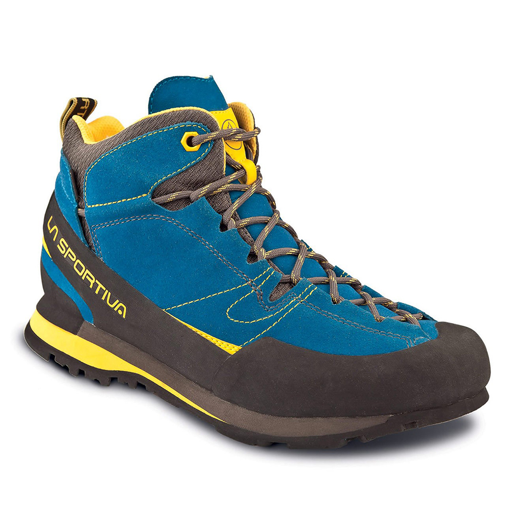Boulder X Mid Gore-Tex Blue / Yellow