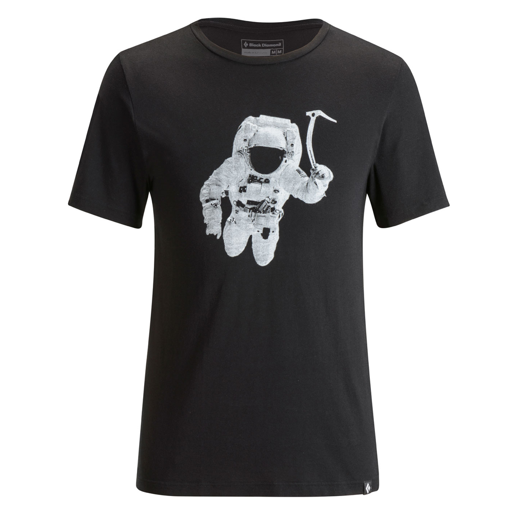Spaceshot Tee Black Black Diamond