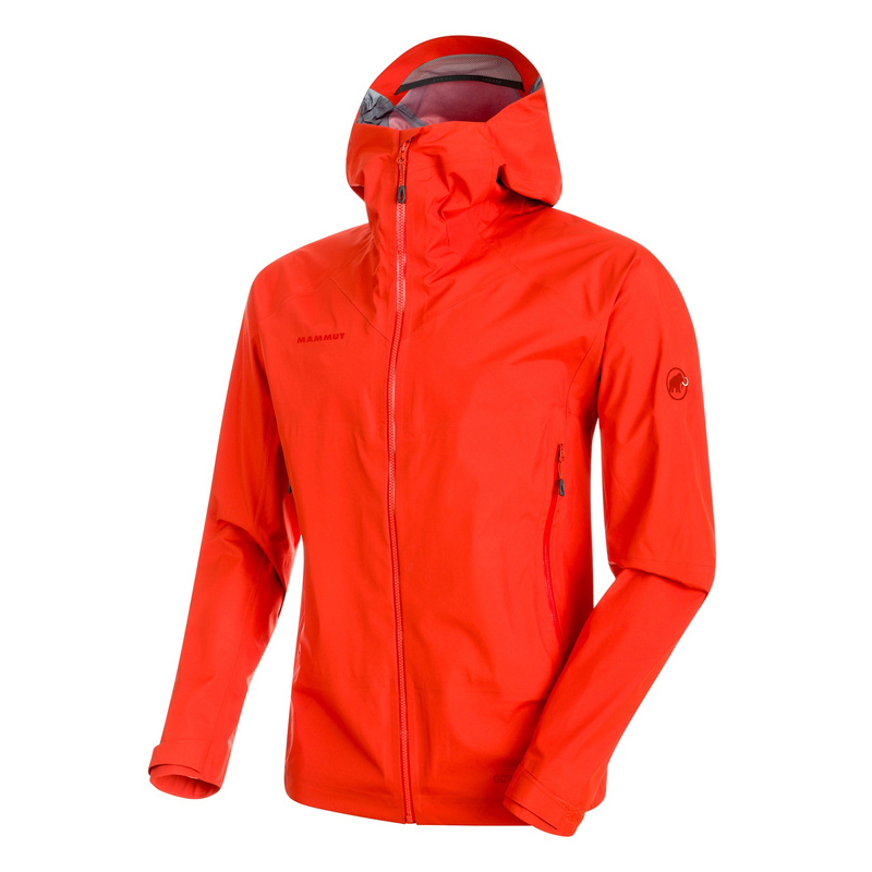 Meron Light HS Jacket Men Dark Orange Mammut
