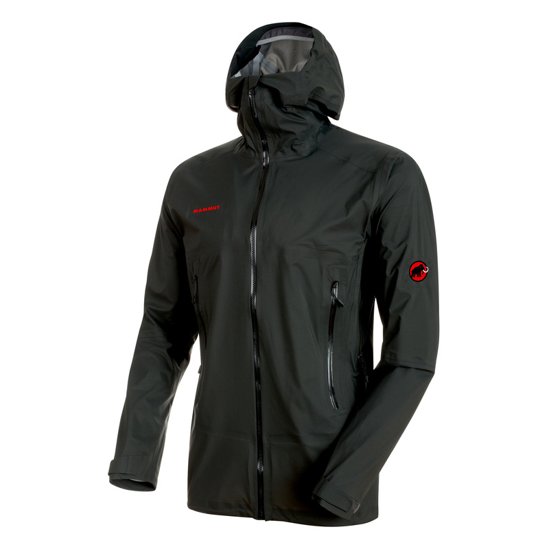 Masao Light HS Hooded Jacket Men Graphite Mammut