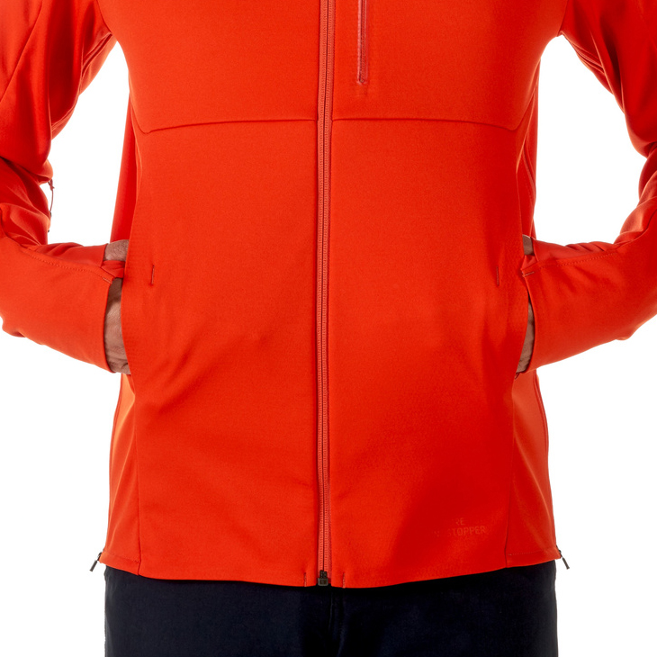 Ultimate V SO Hooded Jacket Men Dark Orange