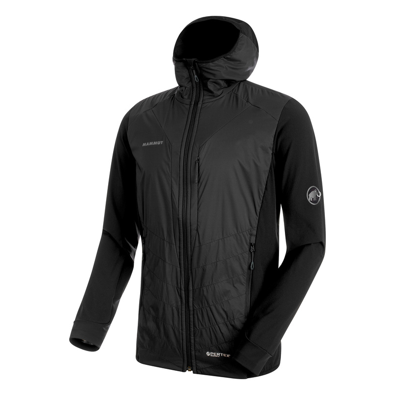 Foraker IN Light Hooded Jacket Men Black Mammut