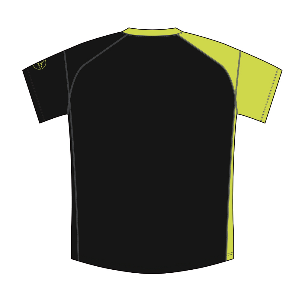 MR Event Tee Black / Sulphur